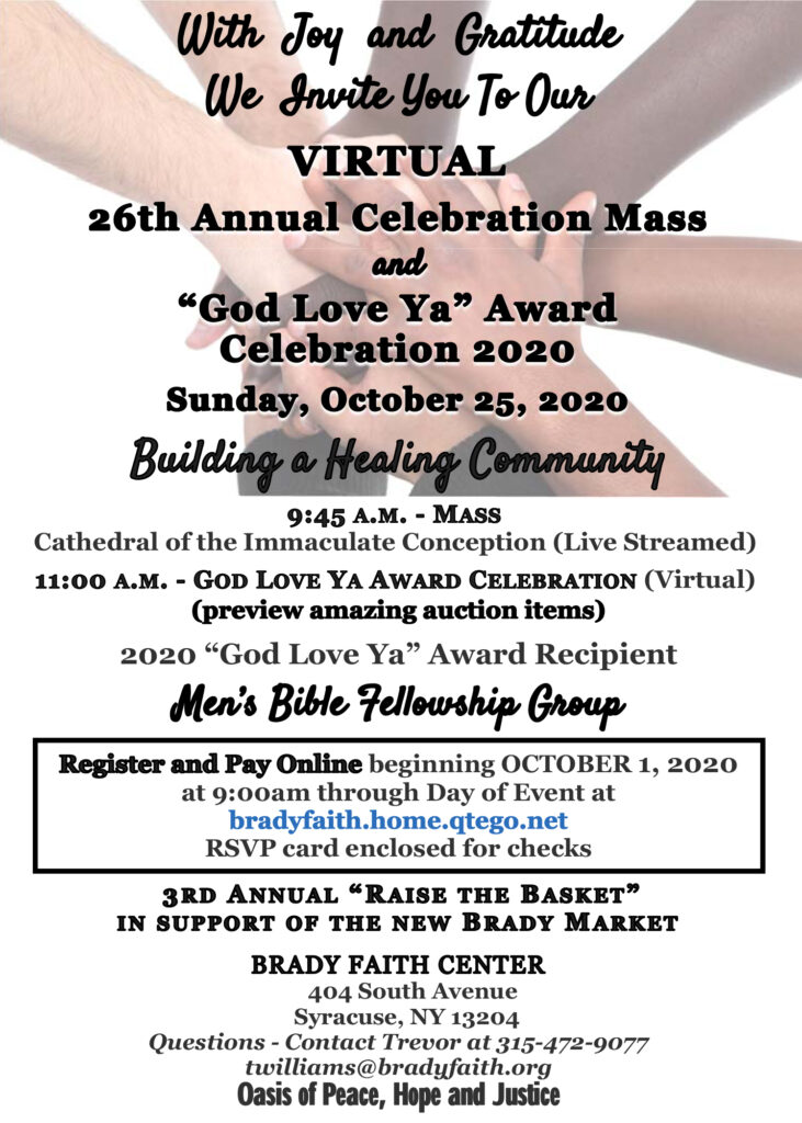 Join our 26th annual celebration mass